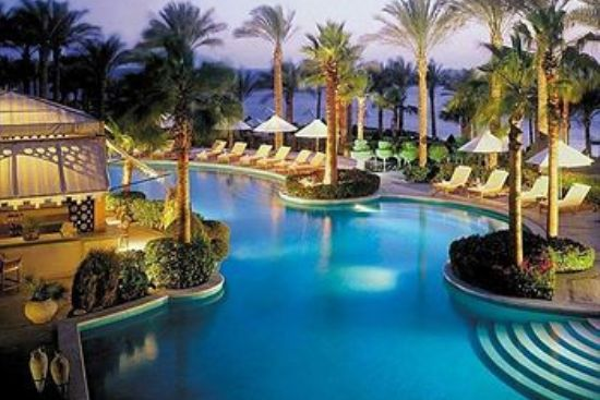 Four Seasons Resort in Sharm El Sheikh, Egypt
