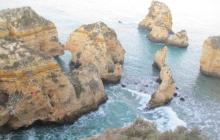 Mysterious Cliffs and Rocks in Ponta da Piedade