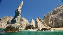 Stunning Rock Formations in Playa Del Amor