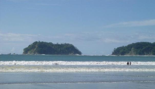 Surfing in Samara Beach Costa Rica