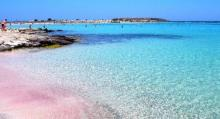 Turquoise Waters and Amazing Pink Sands at Elafonissi Beach