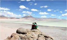 Couple Traveling and Honeymoon to Chile from Bolivia